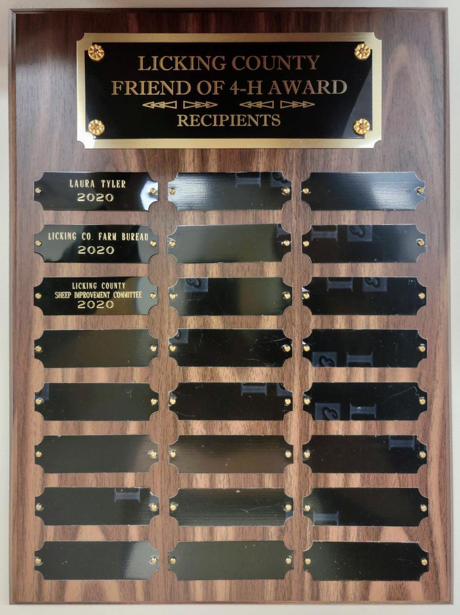 Friend of 4-H 2020