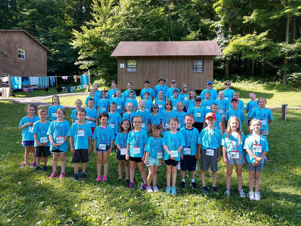 2018 Cloverbud Day Camp Participants and Counselors