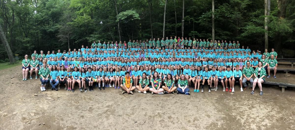 2018 Licking County 4-H Summer Camp Participants